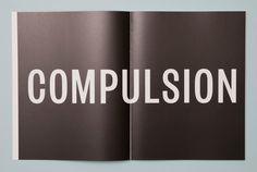 Compulsion #font #book