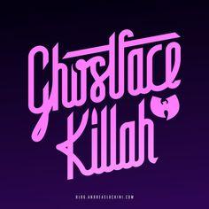 Ghostface Killah #typography #hiphop #wutang