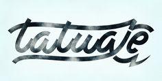 Tatuaje logo by typographer @AndreiRobu. #type