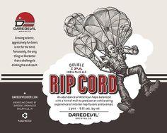 Daredevil Brewing Label