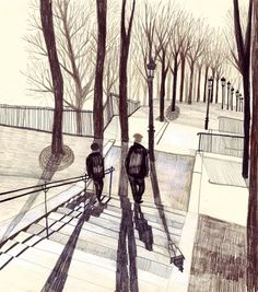 Lucy Dalzell - People - Agency - YCN #illustration #drawing #art #pastel