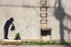 New Paintings by Spanish street artist Pejac