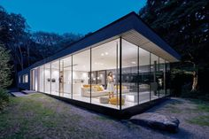 Modern Sustainable Home Set in the Middle of the Forest 7