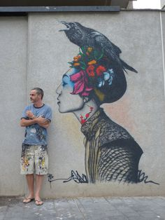 Porcelain by Fin DAC #inspiration #painting #art #street