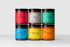 Packaging, Holes, Color, Bold, Die cut, Spain, Jar, Fruit, Preserves