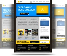 Product website psd template Free Psd. See more inspiration related to Template, Website, Product, Psd, Website template and Horizontal on Freepik.