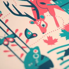 These prints are now available to buy from here. #illustration