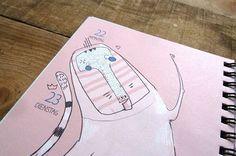 Prinz Apfel Timeplanner 2014 #prinzapfel #planner #illustration #agenda