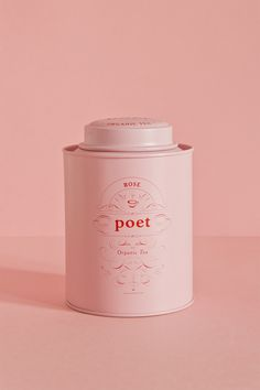 Studio Patten - Poet tea #tins #tea #packaging
