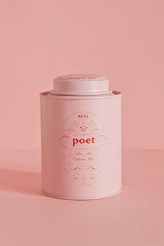 Studio Patten - Poet tea #tins #tea #packaging #tins #tea #packaging