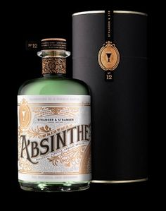 Absinthe bottle