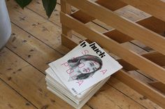 Huck Magazine by She Was Only #cover #magazine