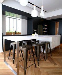 Functional Trendy Art Home dynamic very trendy art home #interior #kitchen #design