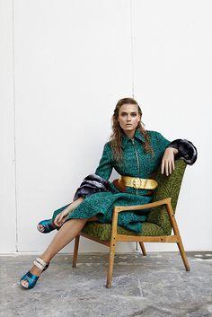 Erika Palkovicova by Branislav Simoncik for EMMA Magazine #fashion #model #photography #girl