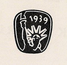 All sizes | New York World's Fair 1939 Mini Logo | Flickr - Photo Sharing! #stamp #badge #1930 #worlds #fair #logo #30s