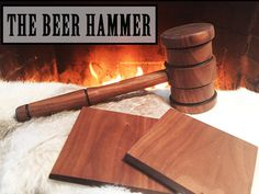 The Beer Hammer #tech #flow #gadget #gift #ideas #cool