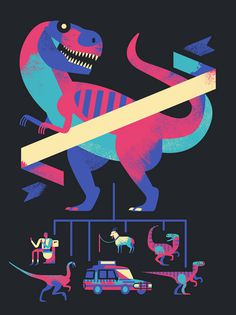 Folio illustration agency, London, UK | Owen Davey - Advertising ∙ Editorial ∙ Publishing ∙ Vector ∙ Character ∙ Mountains ∙ Tre #illustration