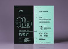 Chiptune — Technology Workshop #typography