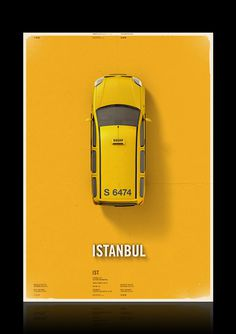 Citycab poster on Behance