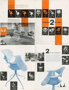 TypeToy.tumblr.com #layout #herman miller #brochure #catalog #catalogue