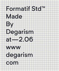 Formatif Std™ Posters #poster #layout #graphicdesign #typeface #typography #formatif #sansserif #neue