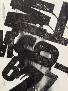 Cover from 1968 issue 6/7 #typography