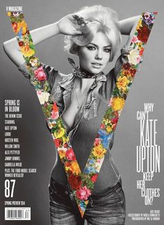 KATE UPTON BY INEZ & VINOODH FOR V MAGAZINE #87