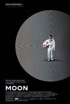 Moon: Extra Large Movie Poster Image - Internet Movie Poster Awards Gallery #astronaut #circles #space #posters #movies #moon