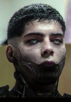 Cyborg me 2.0, Augusto Ribeiro E Silva on ArtStation at https://www.artstation.com/artwork/cyborg-me-2-0