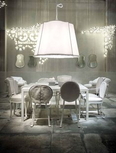 White Living Room Furniture and Decor Ideas by Paola Navone -  #decor, #interior,  #design,  #furniture,