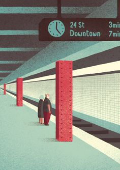 Narrative - Davide Bonazzi #illustration