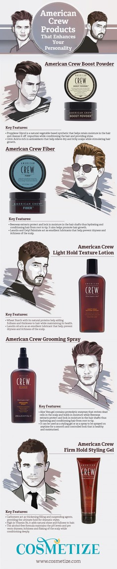 American Crew Products That Enhances Your Personality