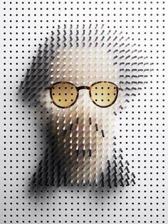 Johnny Depp pin portrait