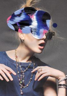 Painting on Please! - Leslie David #fashion #illustration