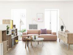 Muuto sofa in Swedish interior