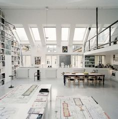 FFFFOUND! | Tumblr #office #white #space #archizecture #working