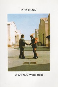 Pink Floyd - Wish You Were Here - 1975 #print #art #music #posters #pink floyd