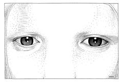 but does it float #eyes #illustration #stare