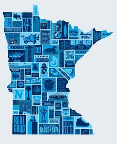 Aaron Draplin's Winter in Minnesota « BURLESQUE OF NORTH AMERICA #poster