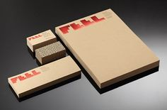 Feel Films : Lovely Stationery . Curating the very best of stationery design #print #feel #films #branding