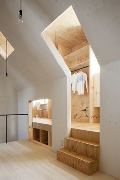 CJWHO ™ (Ant house / mA style architects) #design #interiors #wood #architecture #ants