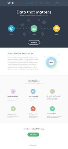 Uni ID #flat #icons #home #ui #minimalist #web