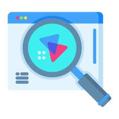 See more icon inspiration related to search, html, url, www, browser, ui, seo and web, loupe, edit tools, search engine, browsers, web page, website, communications, magnifying glass, interface and multimedia on Flaticon.