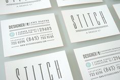 Graphic Design by Stitch | Miss Design #design #identity #stitch