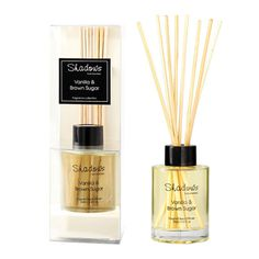 Mini Fragrant Reed Diffuser Vanilla & Brown Sugar, 65ml