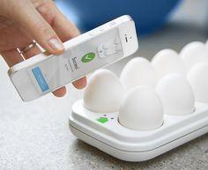 Egg Minder Smart Egg Tray #gadget