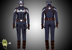 Steven Rogers Captain America Cosplay Costume for Sale
