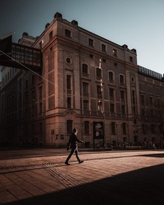 Dark and Cinematic Urban Photos in Stockholm by Daniel Hedquist
