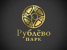 Rublevo Park #floral #arms #gold #antiqua #logo