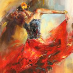 Romantic Paintings by Anna Razumovskaya #romantic #anna #razumovskaya #paintings
